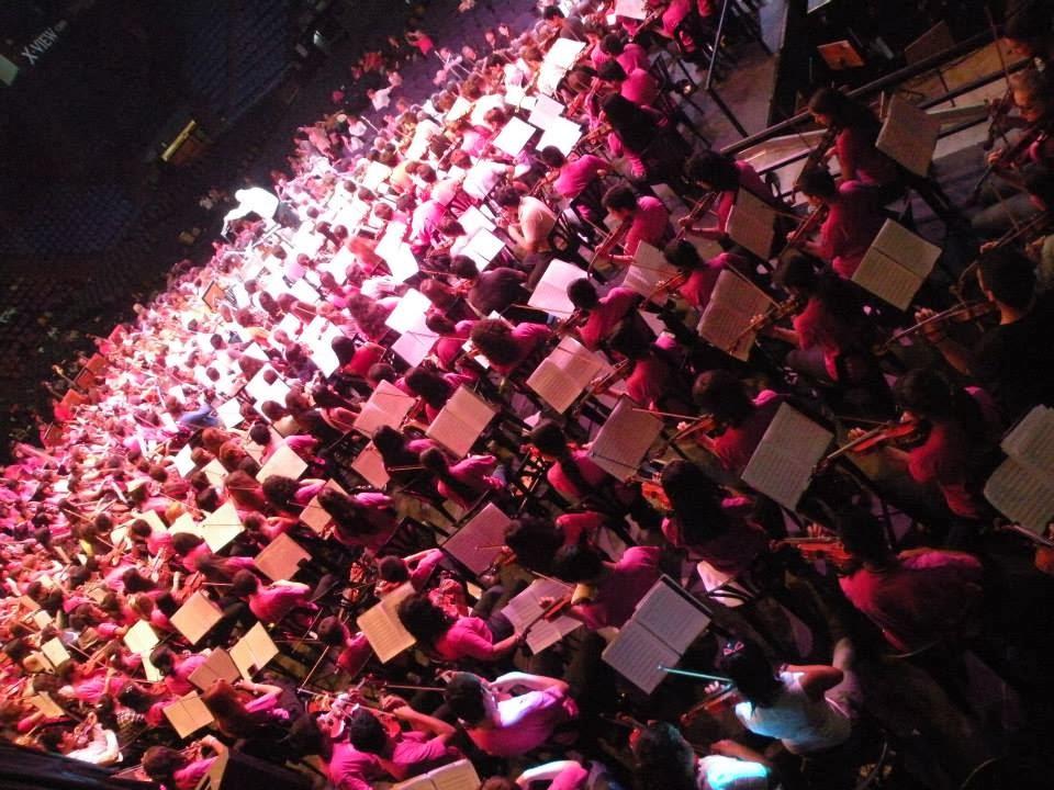 """""""Coro de la Innovación"""" en XIIIº EIOJ en Luna Park"""