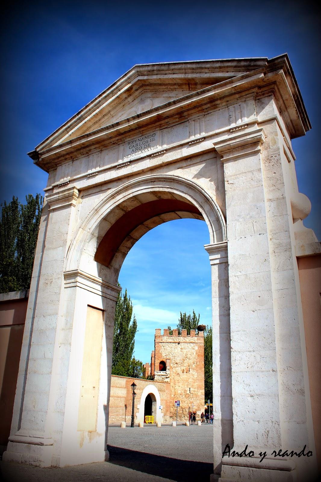 Puerta de Madrid. Alcalá de Henares