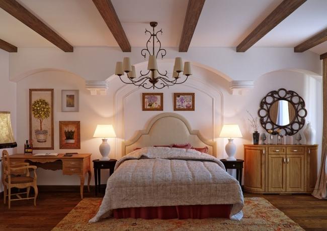 Matrimonio Bed Properties : Dormitorios rÚsticos con estilo