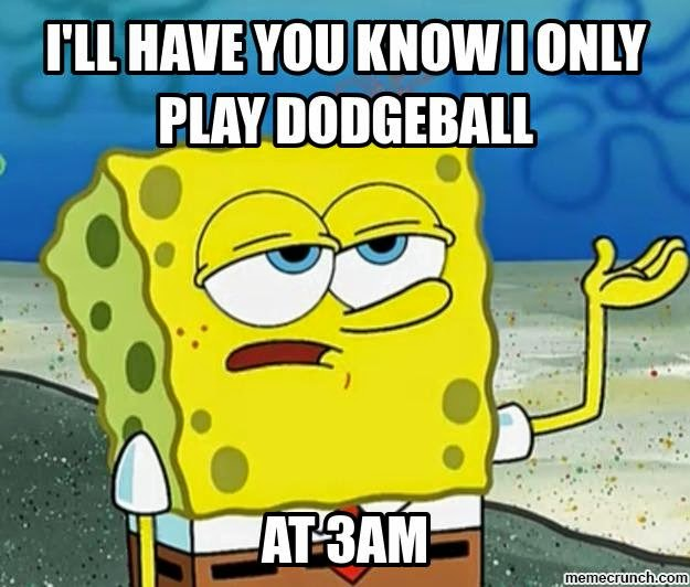 Spongebob does Dodgeball