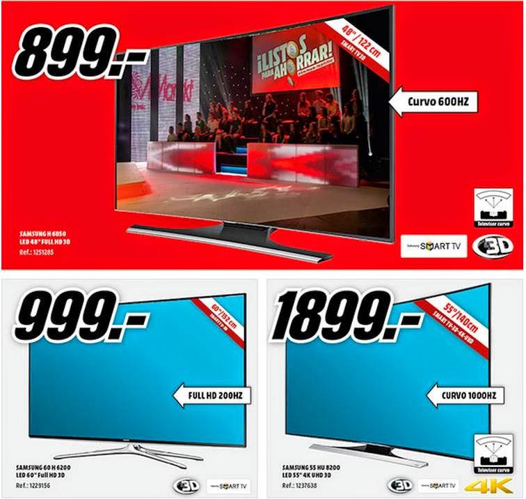 oferta tv curvo desde 899€ MM 11-2014