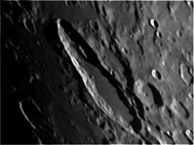 Moon Crater Schiller 179x71km south-west region