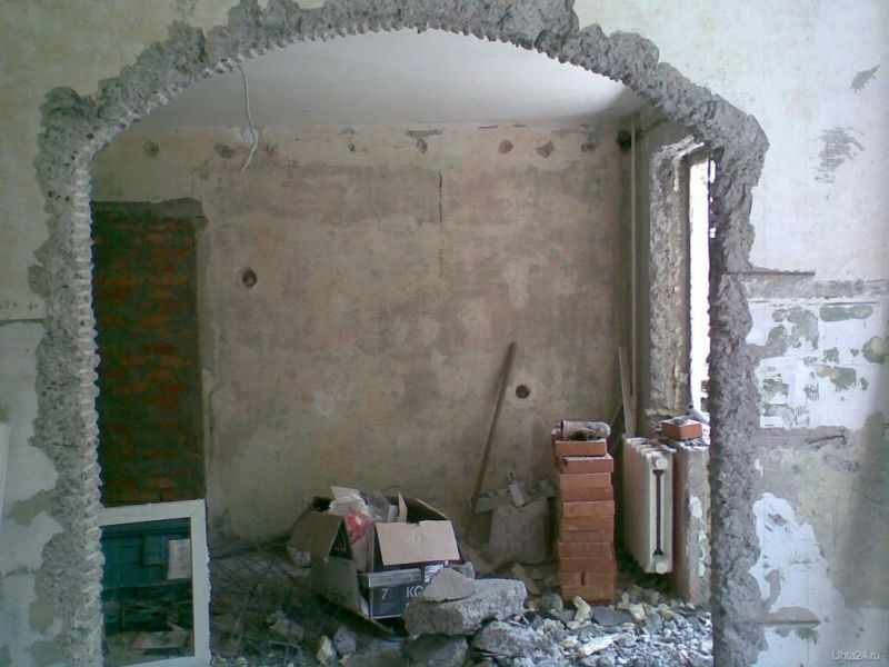 Демонтаж стен своими руками