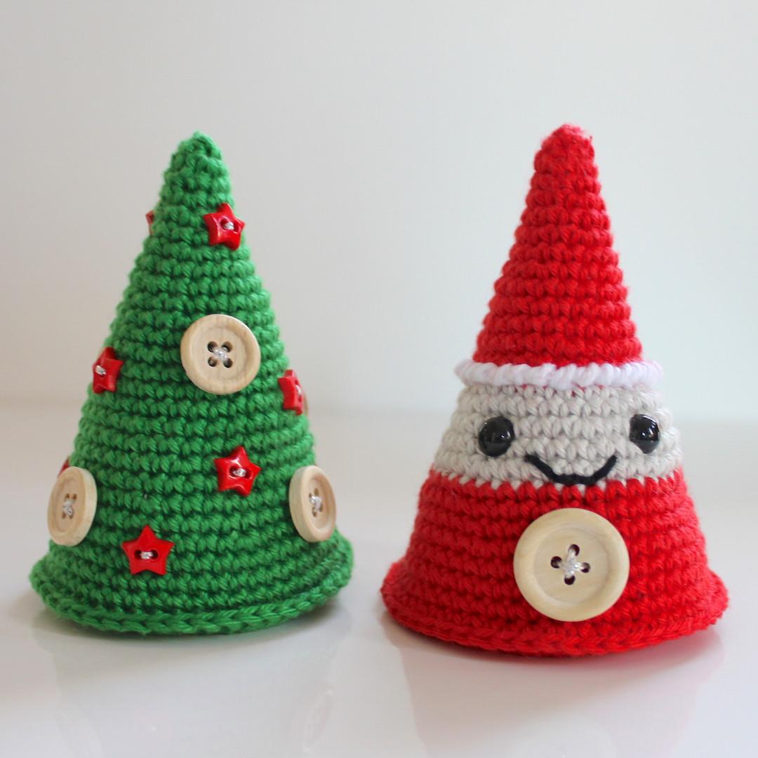 Kerstboom en kerstman