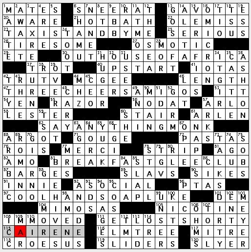 Rex Parker Does The NYT Crossword Puzzle Hellhound Of Norse