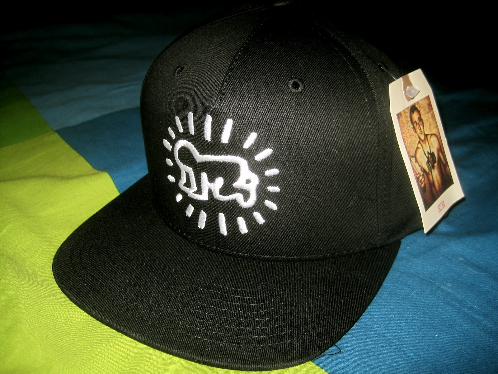 DON D WORLD  OBEY x KEITH HARING SNAPBACK 9f072d67aad