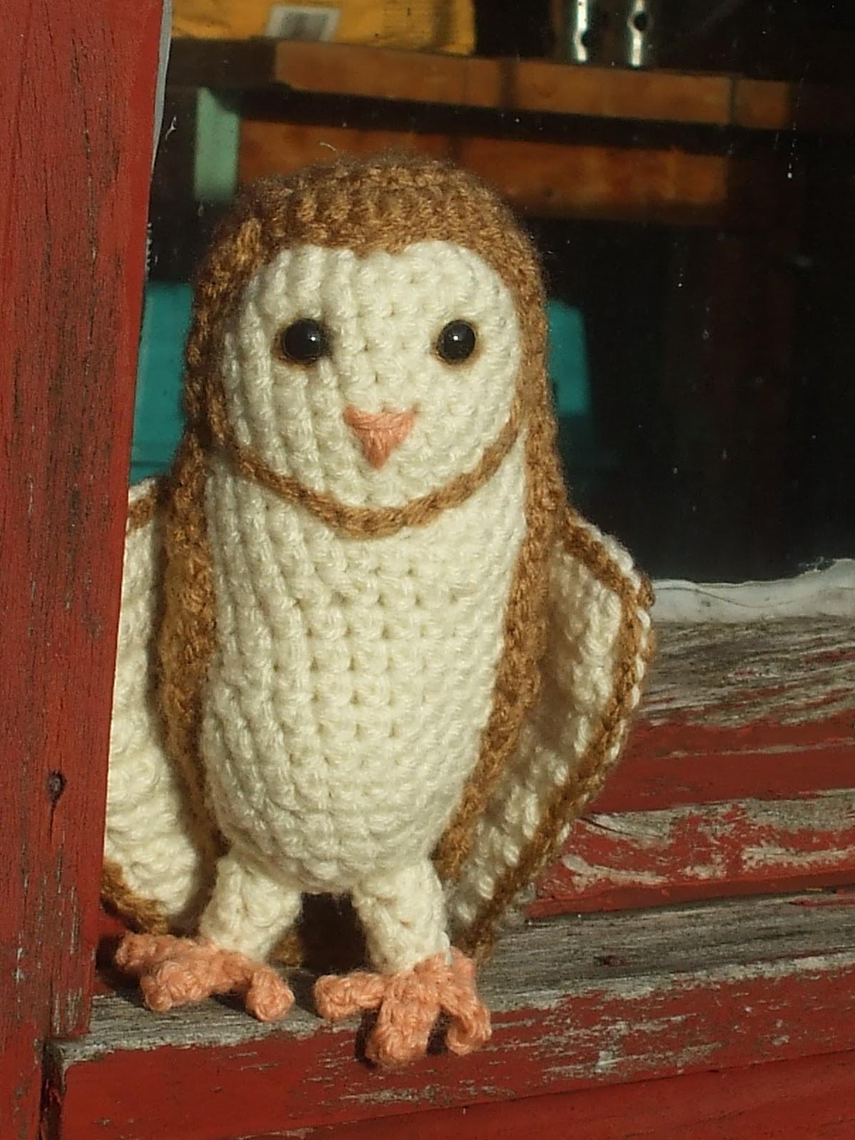Amigurumi Barn Owl : Great Grey Crochet: Soren the Barn Owl