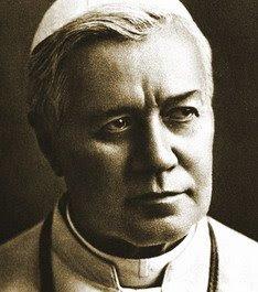 Sua Santidade o Papa São Pio X - Patrono do Blog.