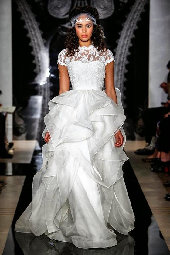 Reem Acra Spring 2014 Bridal Collection