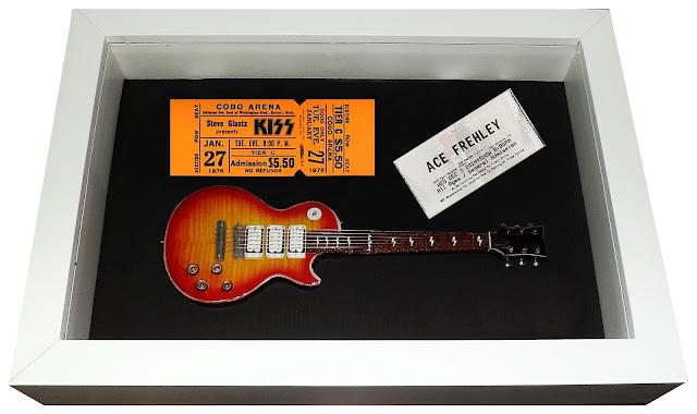 Kiss mini guitarra ace frehley