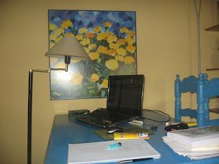 El departamento de producción desde donde escribo mi blog agamezcm
