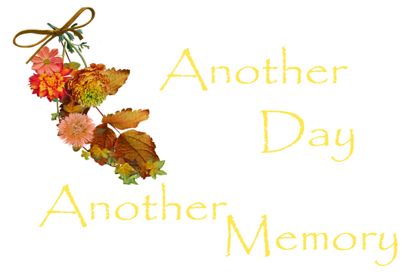another day-another memory