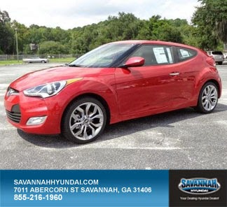 Savannah Hyundai, 2015 Hyundai Veloster, Savannah New Car Specials, Sports Coupe