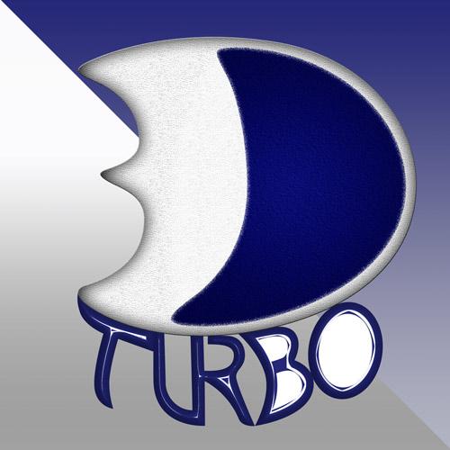 Logotipo 3D Turbo VFX Animações e Efeitos Visuais