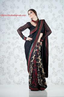 Girls+Wear+Sari+013