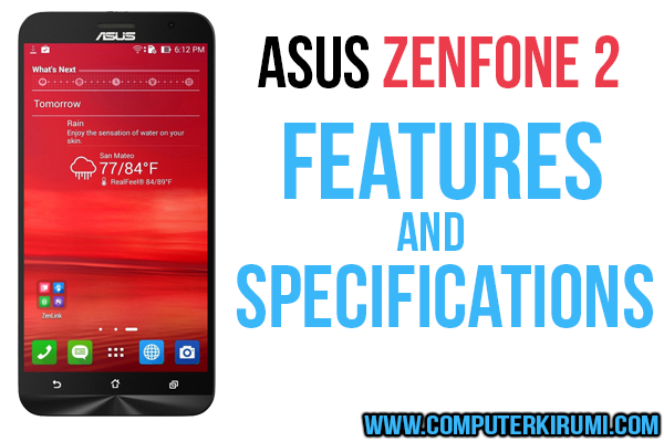 asus zenfone 2 specifications features