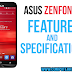 ASUS ZENFONE 2 Specifications and Features