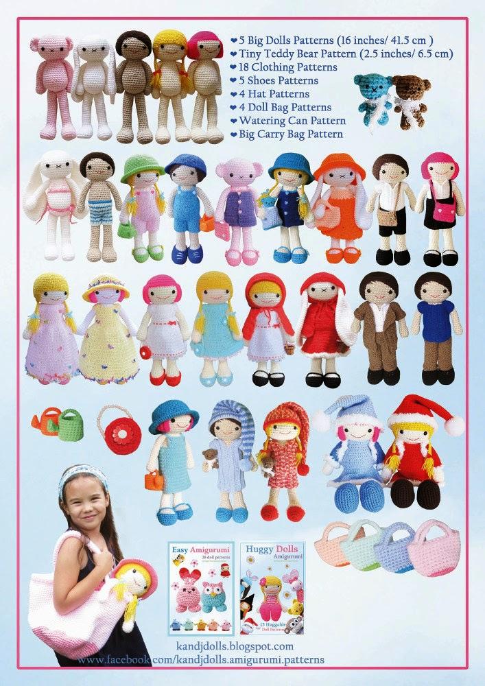 The Dress Up Dolls Crochet Pattern Book Is Out Sayjai Amigurumi