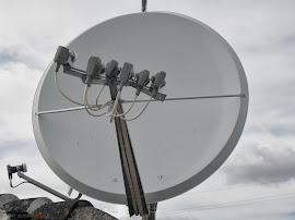 Instalação para 6 satelites