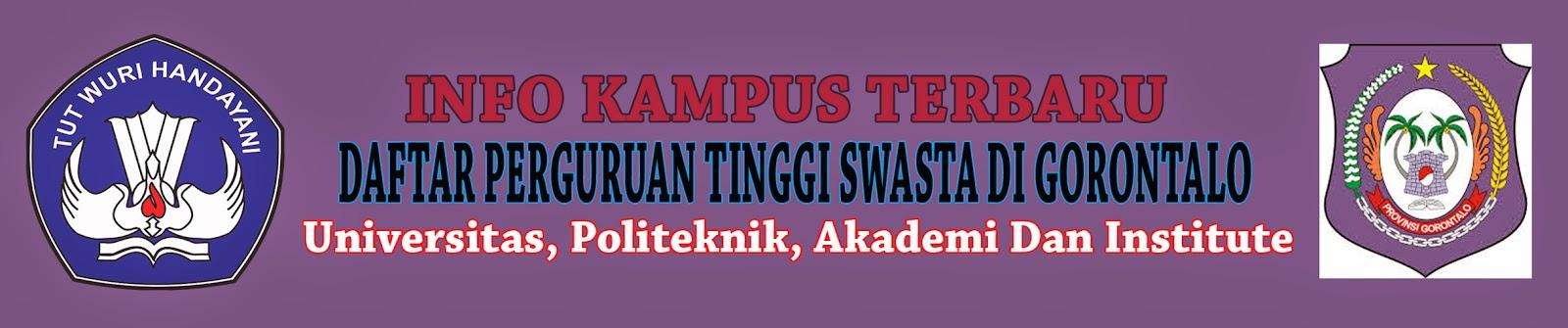 Daftar Perguruan Tinggi Swasta Di Gorontalo