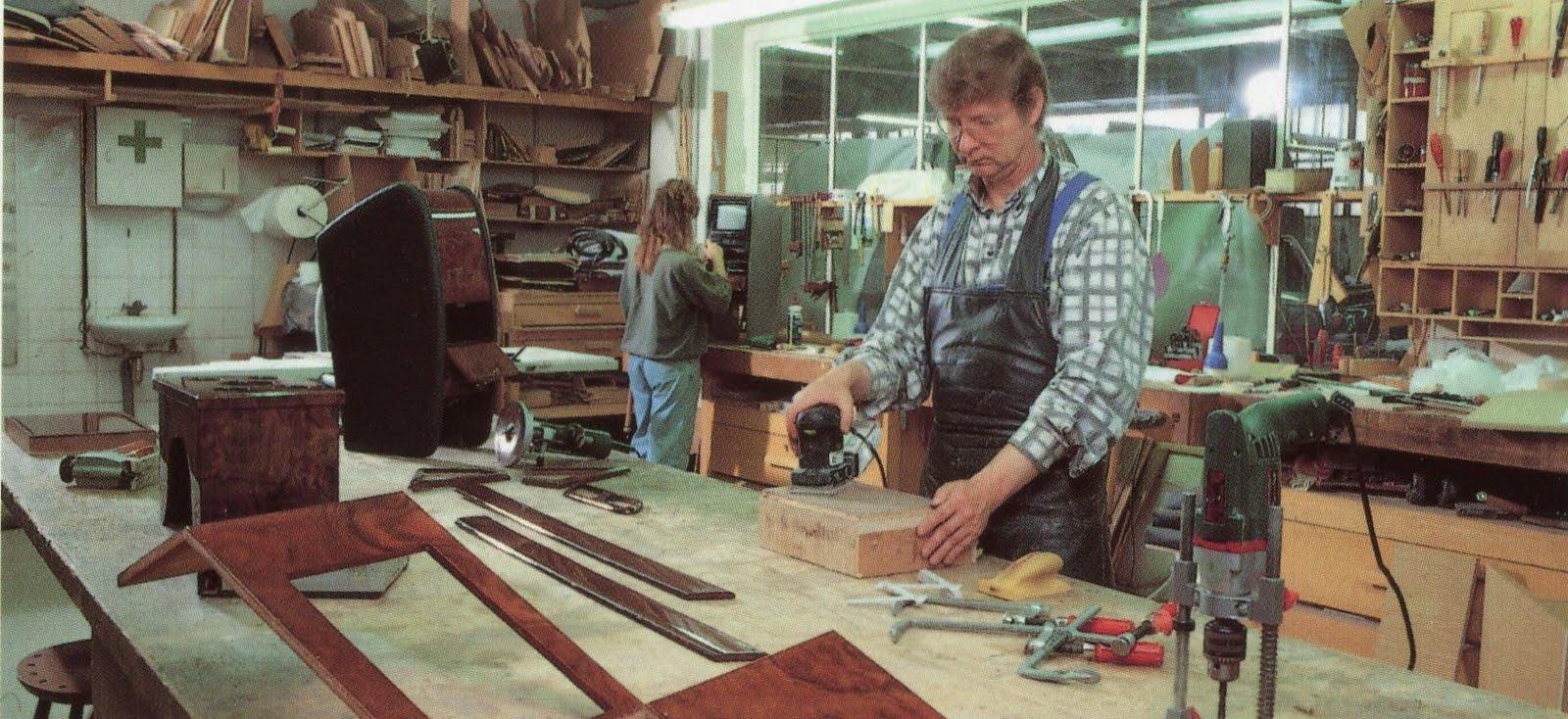 Trasco-forever: Unsere alte Tischlerei am Steindamm