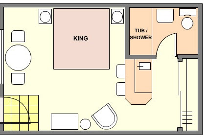 Foundation Dezin Amp Decor Hotel Room Plans Amp Layouts