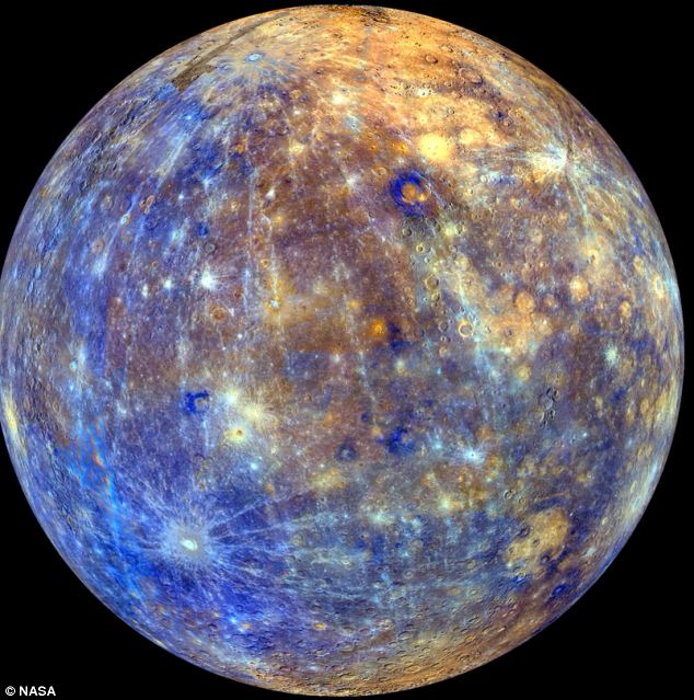 Planet Mercury blackened by billions of years of comet dust ...