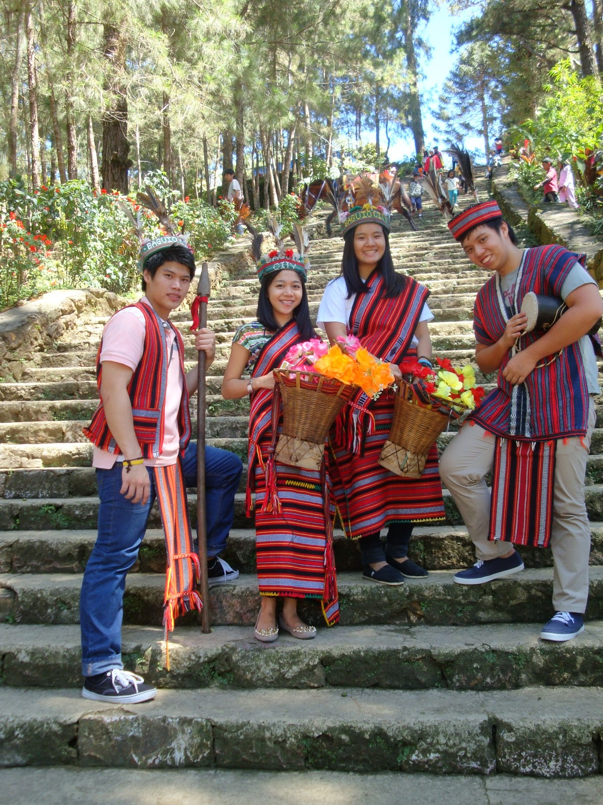 Baguio for Panagbenga Festival with Ivan and Elka for day1