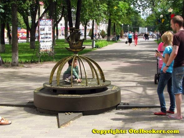 The Centre of Europe in Polotsk