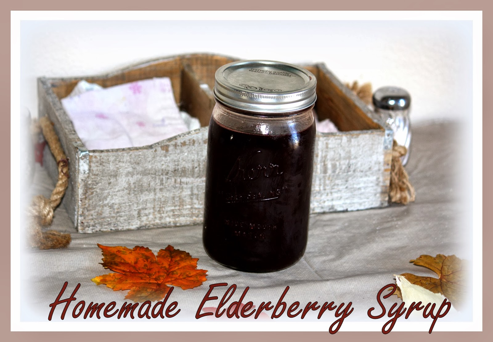 What is elderberry syrup good for
