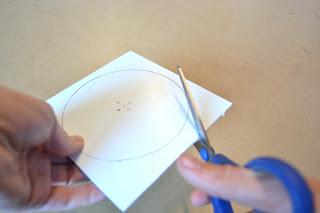 Uhr aus Besteck: DIY Schritt 1