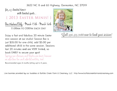 winston salem easter portraits | winston salem easter sessions