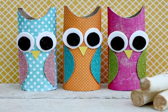 Veryycosmetic o papierze toaletowym w nieco innym wietle for Toilet paper tube owls