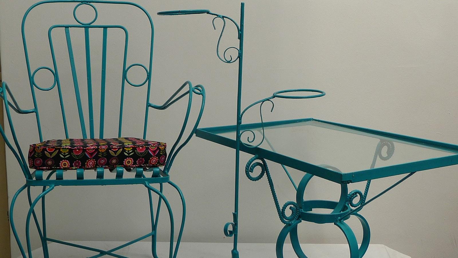 Mueble Muebles Jardin Hierro Forjado Antiguos Galer A De Fotos  # Muebles De Hierro Forjado