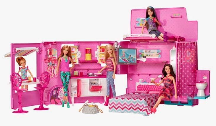 Hot Holiday Toys From Barbie With The Barbie Glam Camper