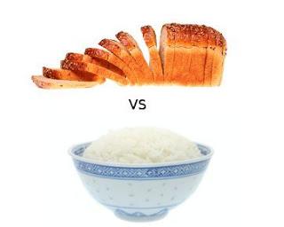Roti VS Nasi