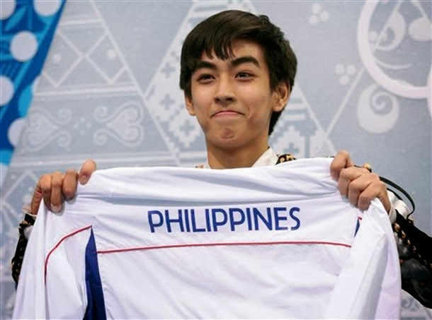 Michael Martinez represents Philippines in Sochi 2014