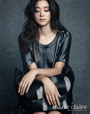 Jeon Ji Hyun - Marie Claire Magazine October Issue 2013