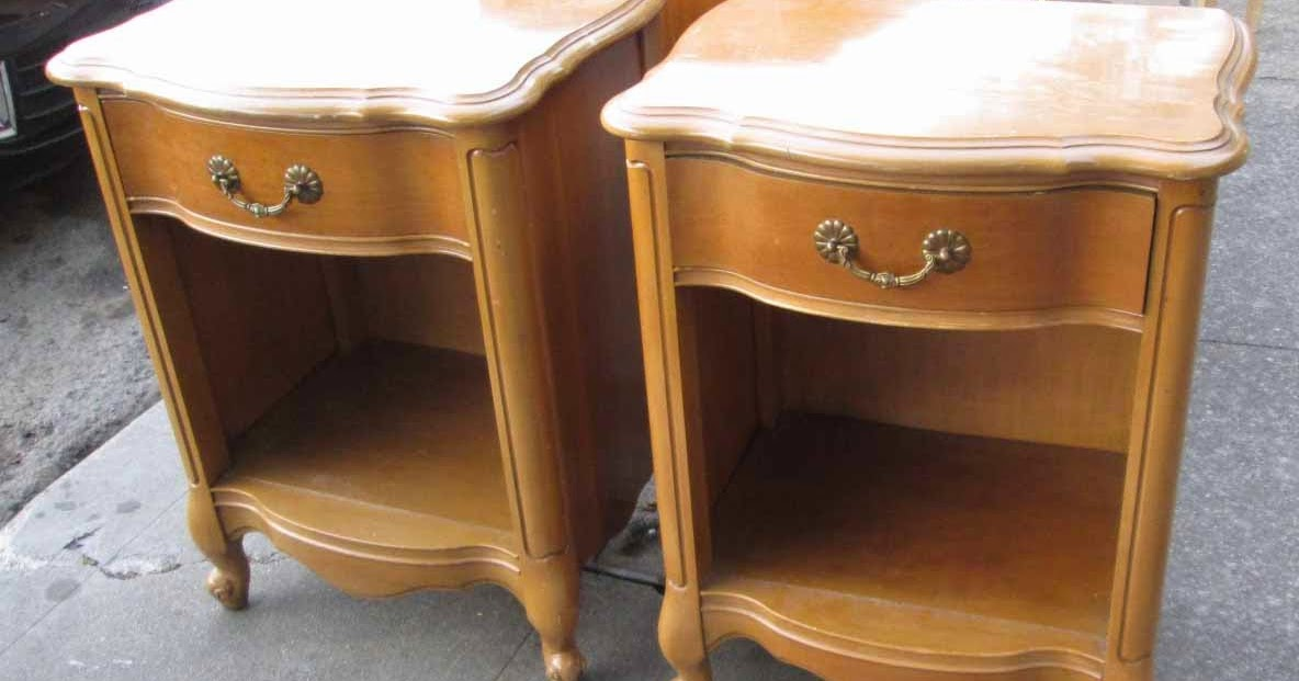 Uhuru furniture amp collectibles sold french provincial quot caramel