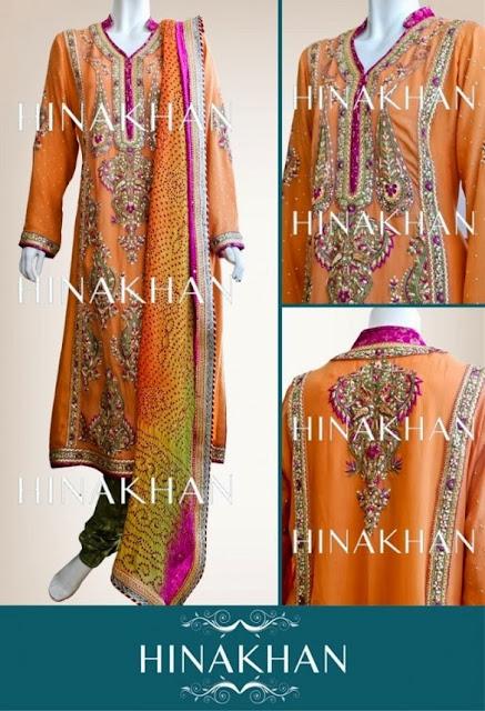 Bridal And Formal Dresses Collection 2013-2014 | Hina Khan Bridal And Formal Dresses Collection 2013-2014 By Fashion She9