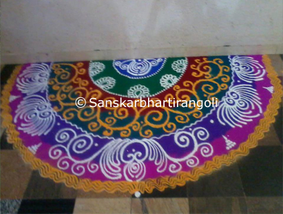 Sanskar Bharti Rangoli Designs - Sanskar Bharti Rangoli