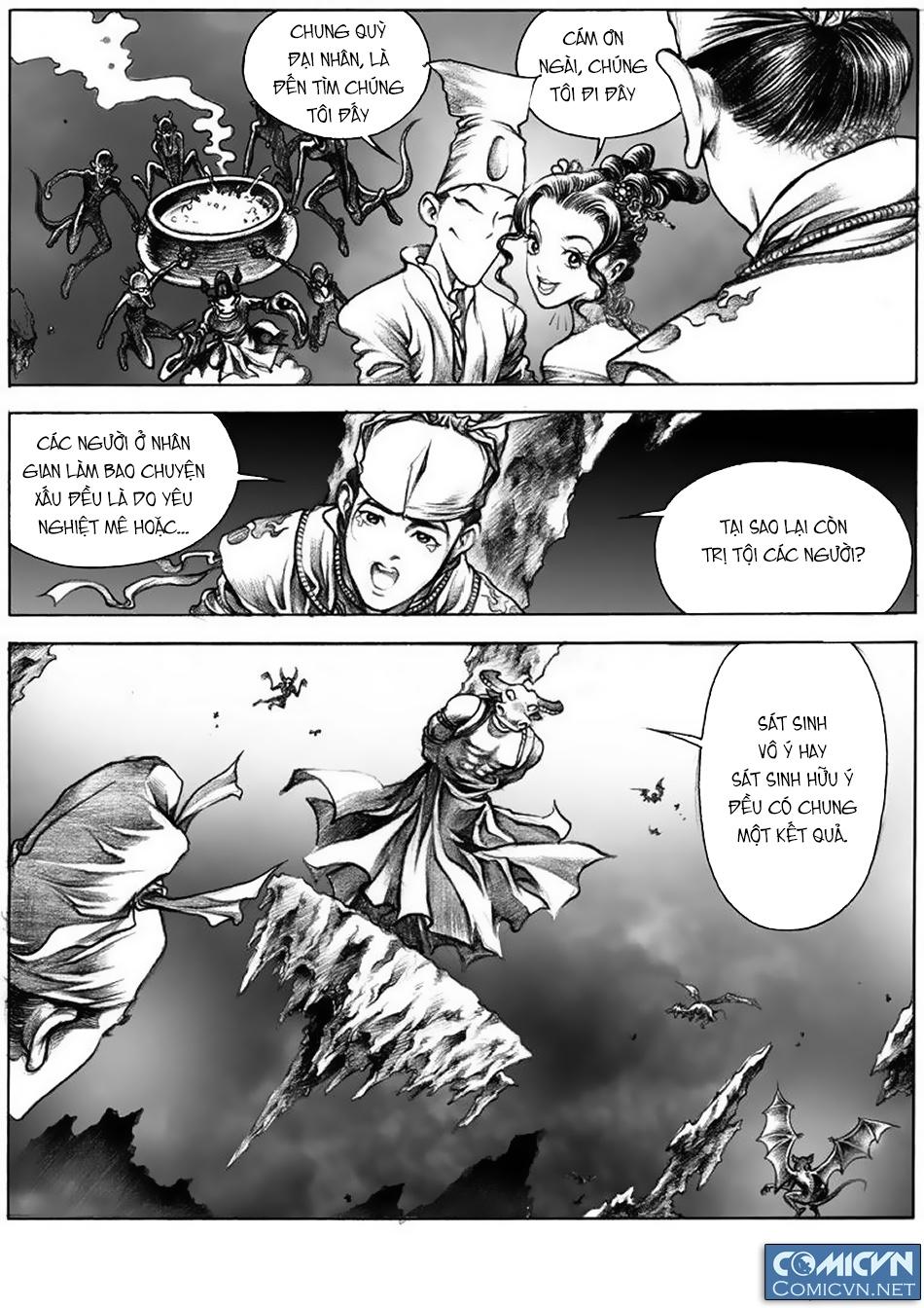 Chung Quỳ Truyền Kỳ Chapter 11 - Hamtruyen.vn