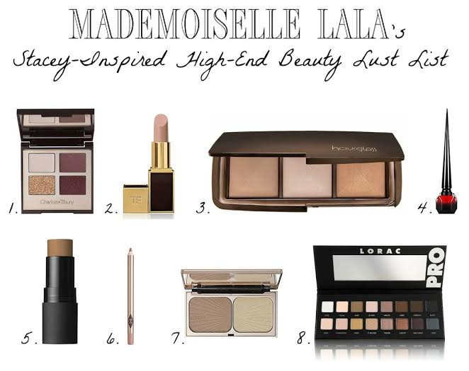 Guest Post | Stacey-Inspired High-End Beauty Lust List