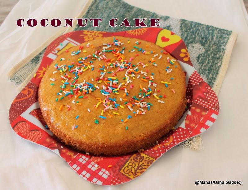 Fast Cocnut Cake