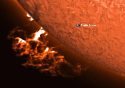 Eyeccion de masa coronal, 19 de Noviembre 2012