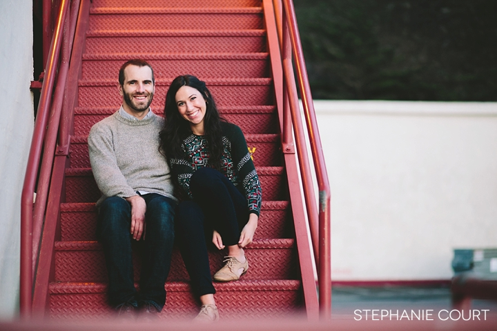 engagement photos at fort mason