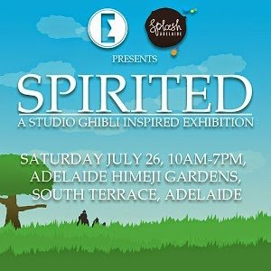 Spirited: A Studio Ghibli Inspired Exhibition
