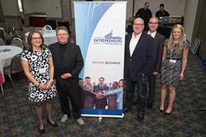 Toronto Entrepreneurs Staff with Keynote Jonathan Carroll
