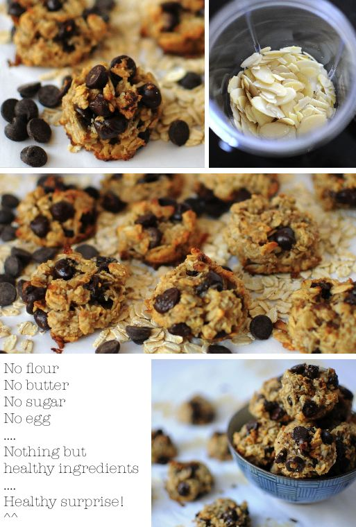 Sweet make me Smile ..: Healthy cookies