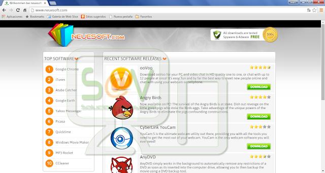 Neuesoft.com pop-ups